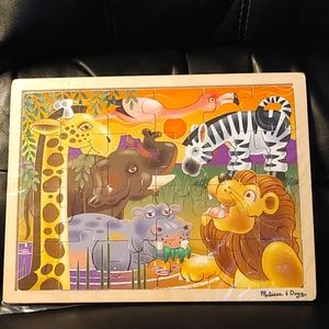 2/$40💠Melissa and Doug African Plains Puzzle